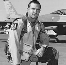 """Lt. Co. Rob """"Waldo"""" Waldman Fighter Pilot"""