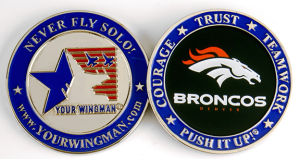 BRONCOS COIN closer