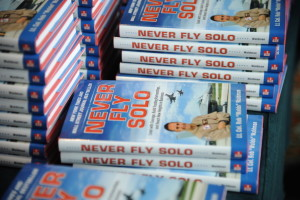 Never Fly Solo book group photo smaller