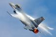 F-16 thrust smaller
