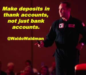 Thank Accounts Waldo