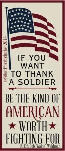 If You Want To Thank A Soldier Waldo Waldman