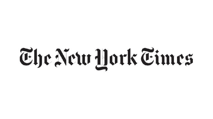 The New York Times Logo Black