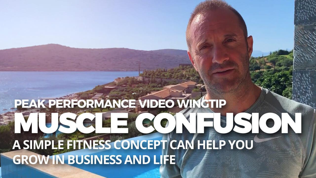 muscle confusion tips waldo waldman